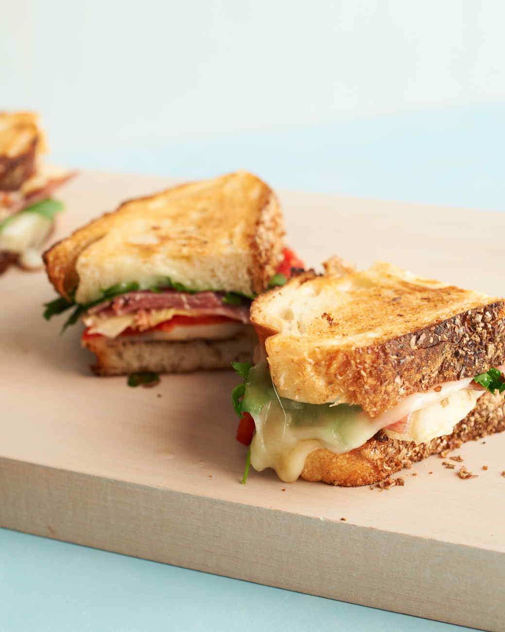 Grilled Sandwich and Panini Recipes | Martha Stewart