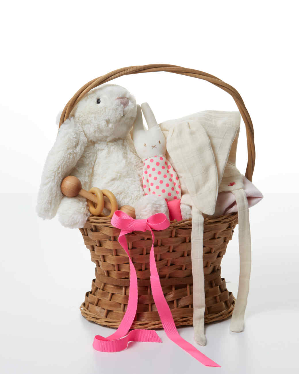 7 aww inspiring easter basket ideas for babies martha stewart negle Image collections