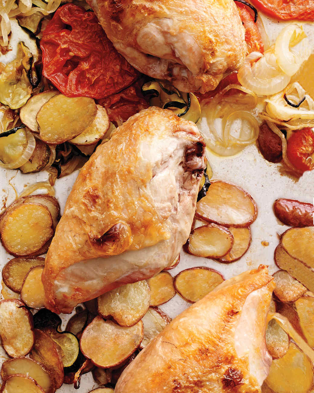 Chicken with Provencal Vegetables