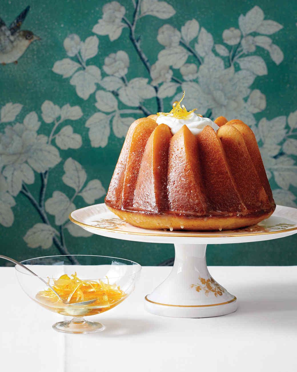 Triple-Citrus Bundt Cake Recipe | Martha Stewart