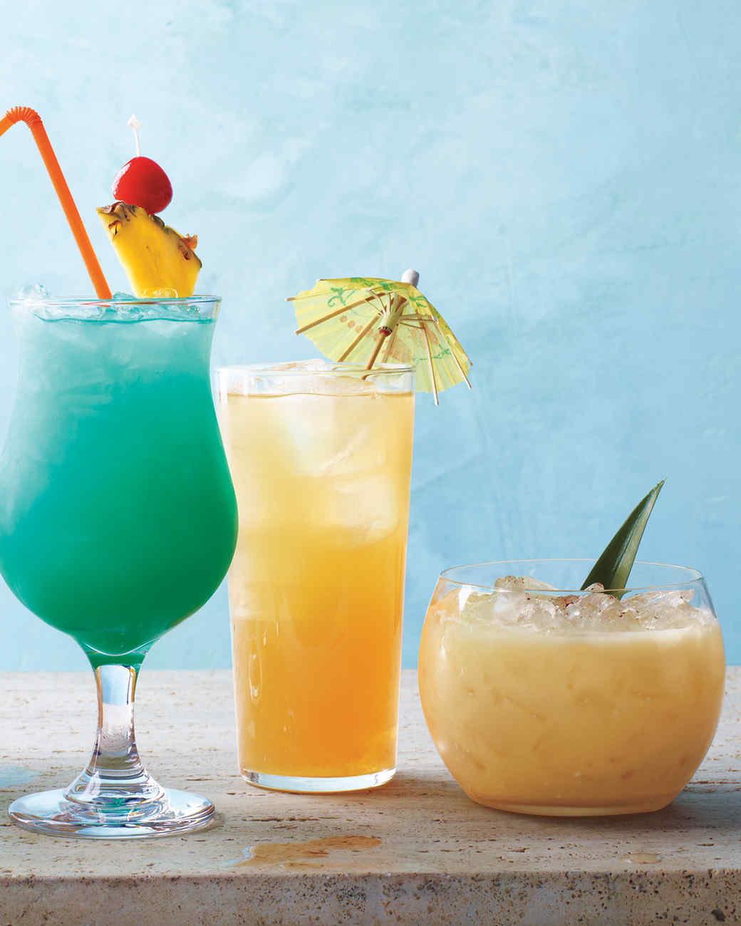 Rum And Pineapple Frozen Drinks