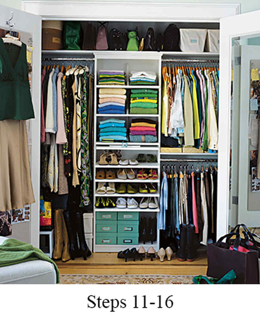 organize how clothes wardrobes little lot vertically very in space clothing zyyzyly of a wardrobe rather to closet stack