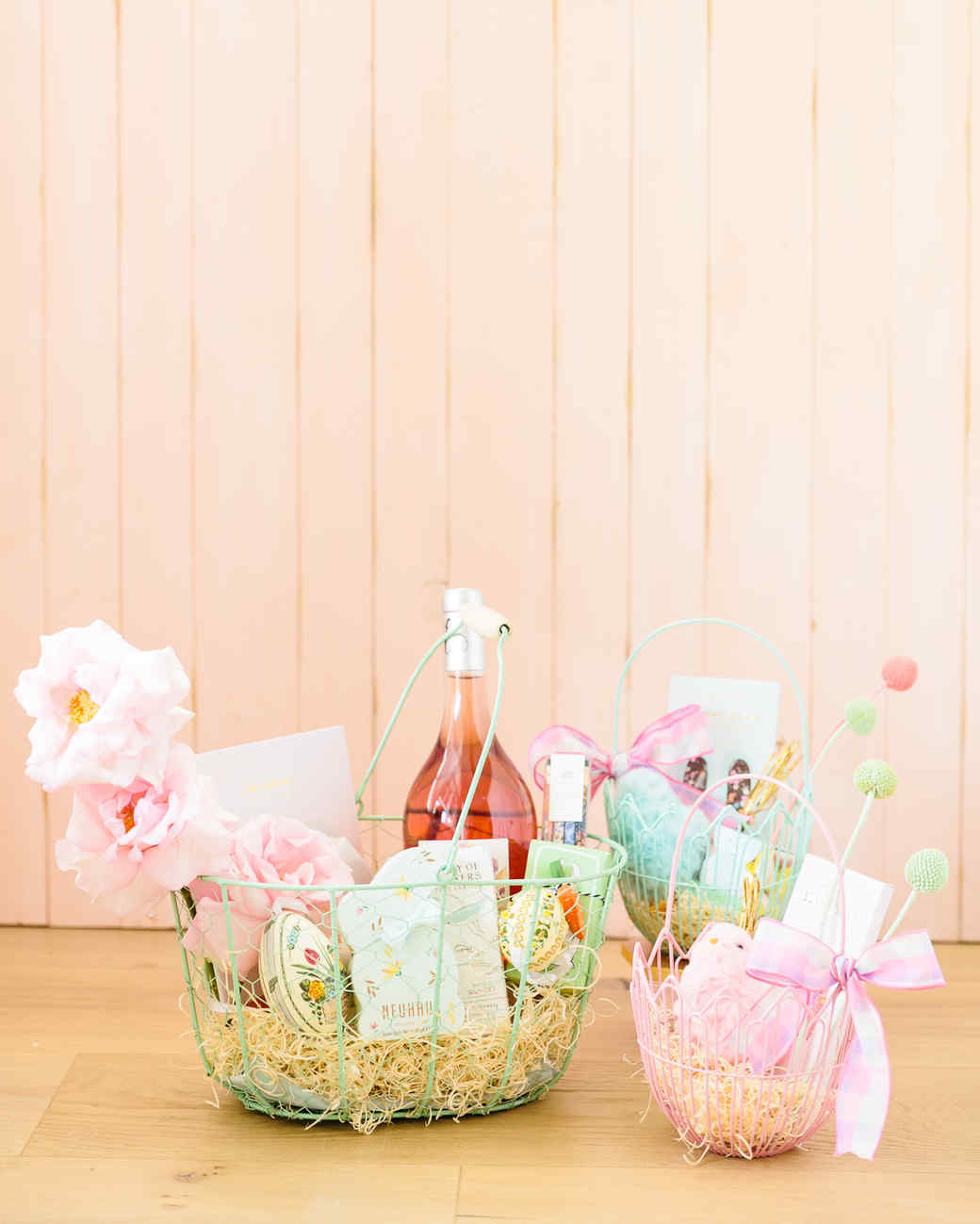 wire easter baskets