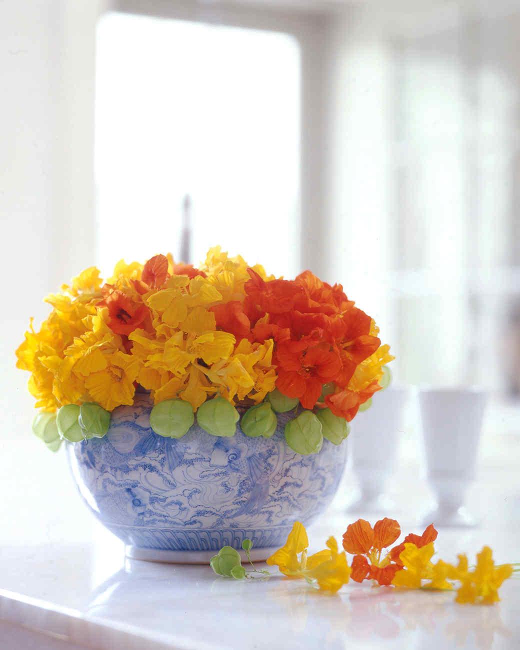 Orange flower arrangements martha stewart mightylinksfo