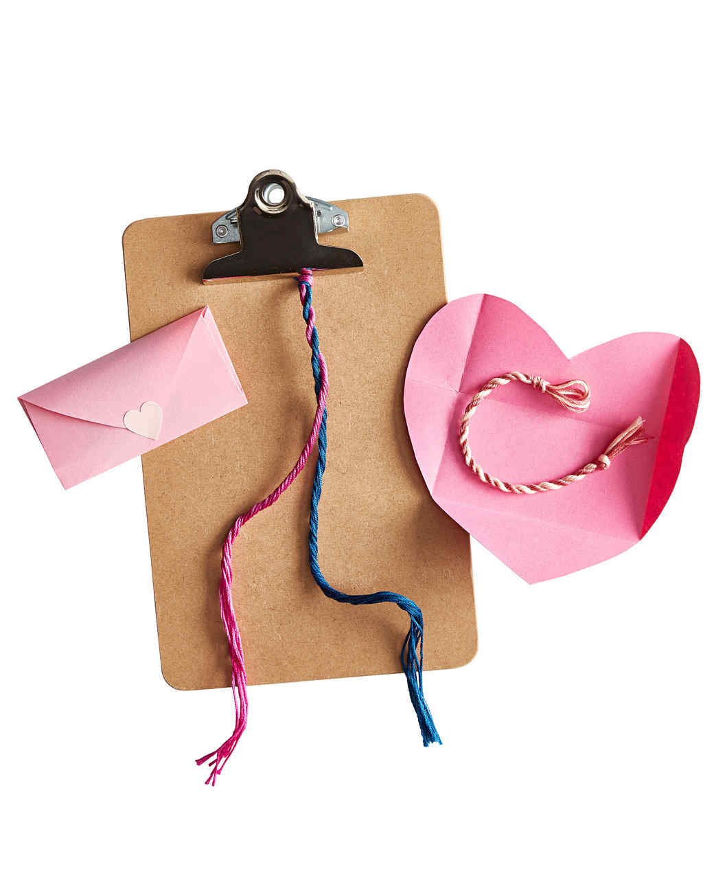 friendship bracelet clipboard