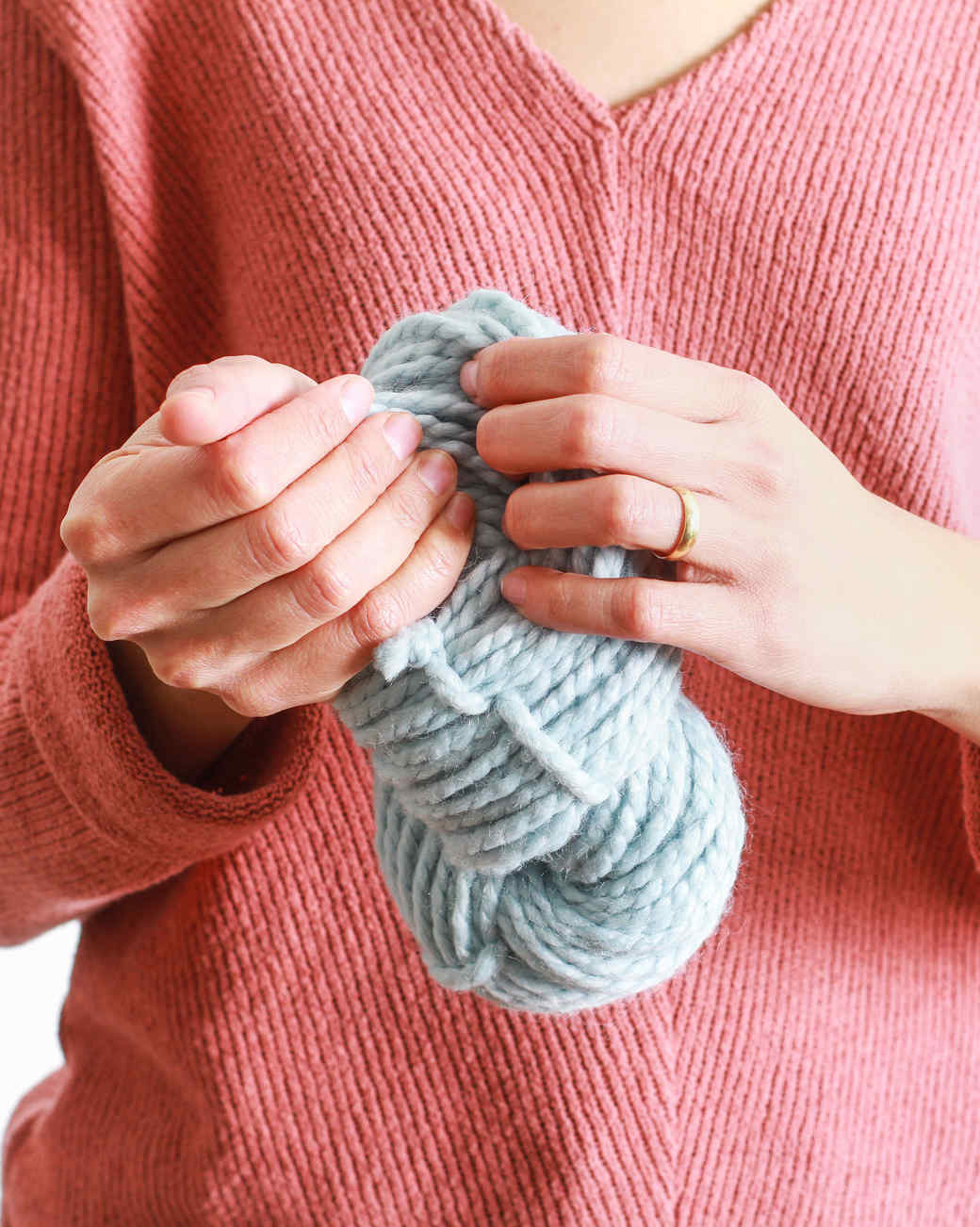 How to Hand-Wind Yarn Into a Ball, Hank, or Skein