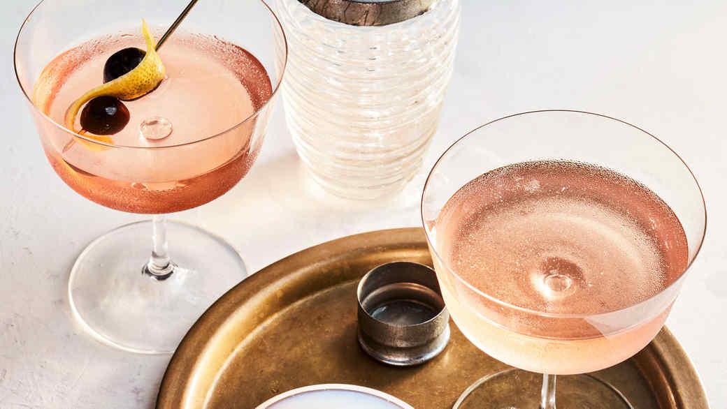 Pink Gin Martinis