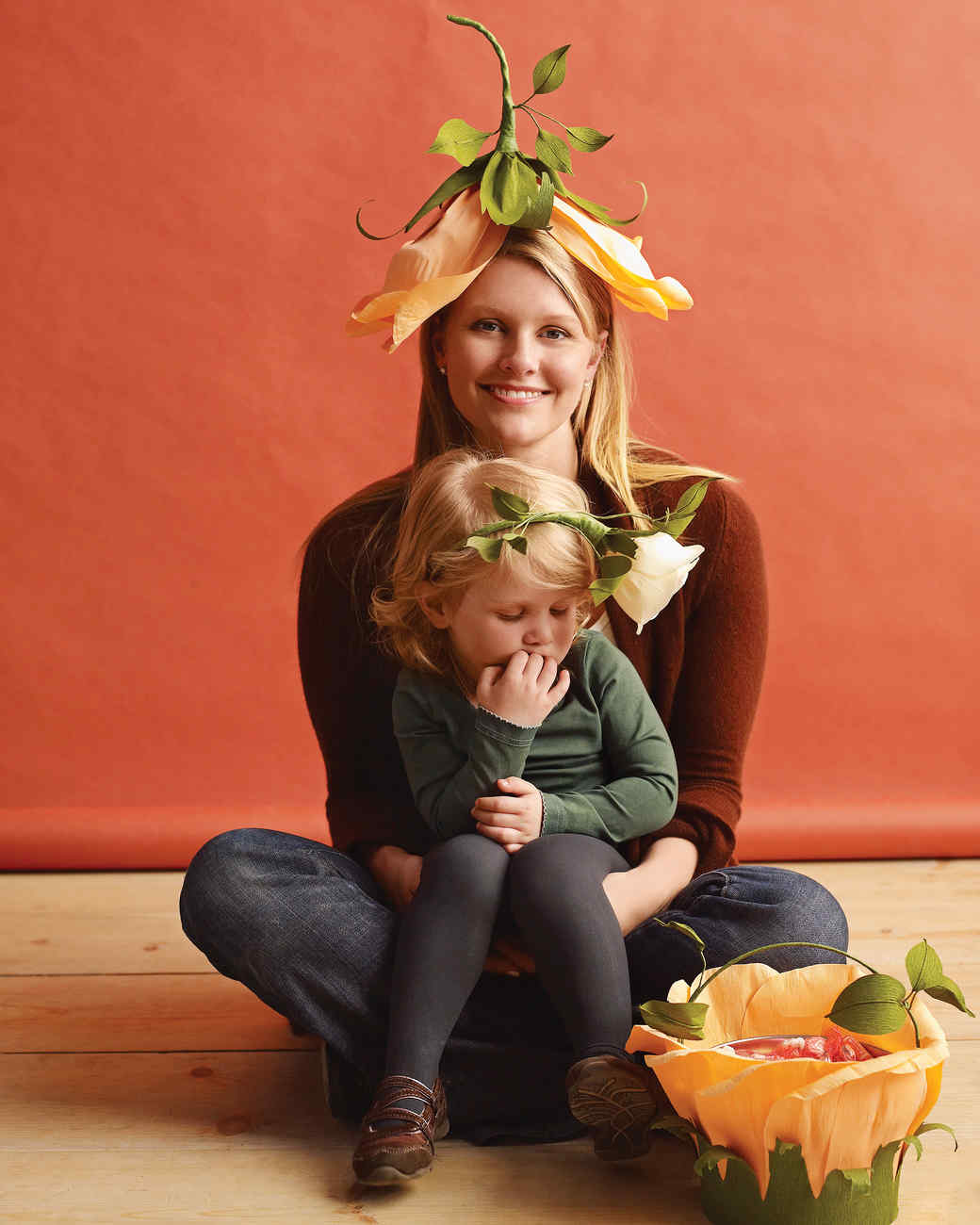 Tulip and Rose Costumes  sc 1 st  Martha Stewart & Family Costumes for Halloween | Martha Stewart