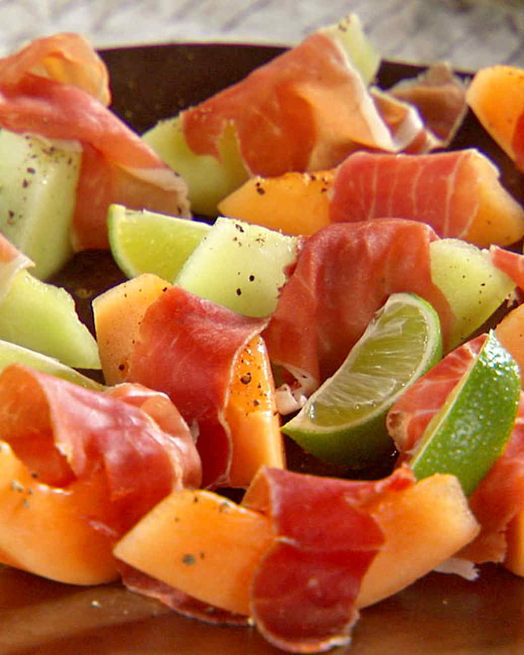 Prosciutto with Fresh Fruit
