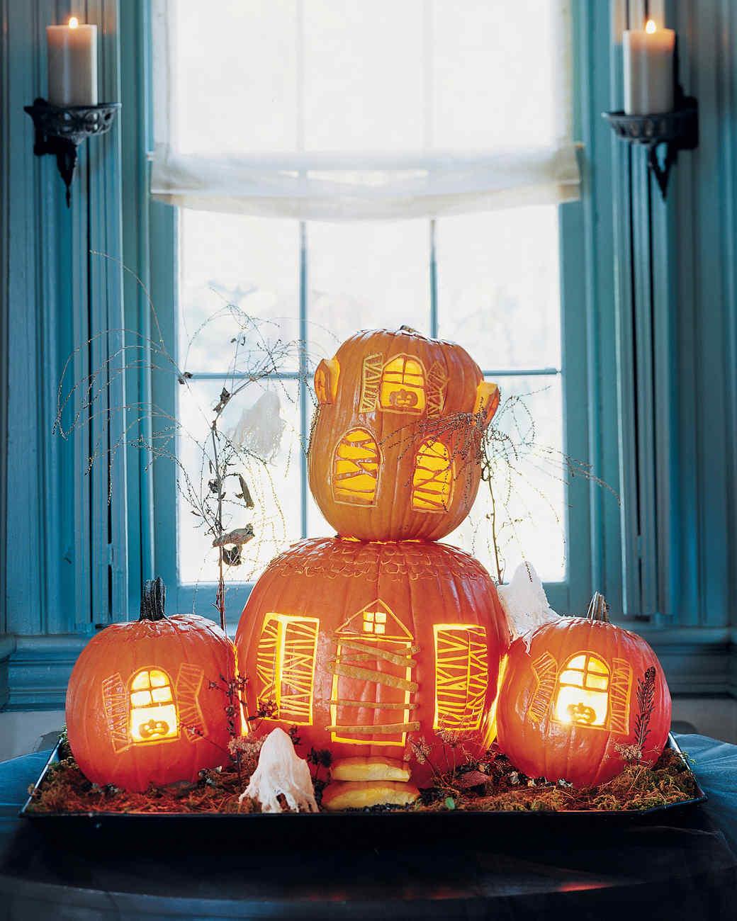 Haunted Manor Pumpkins