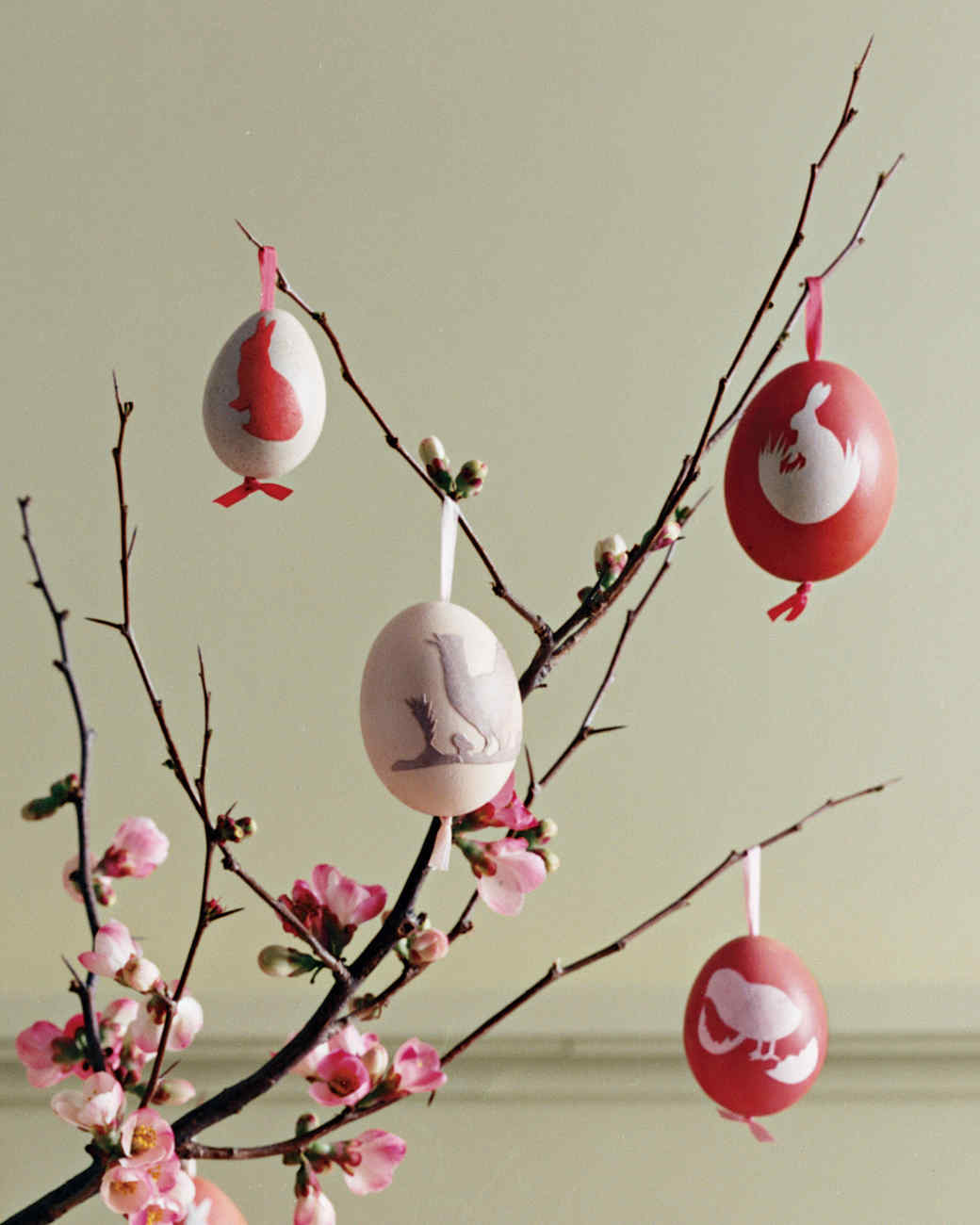 german style paper cutout easter eggs martha stewart