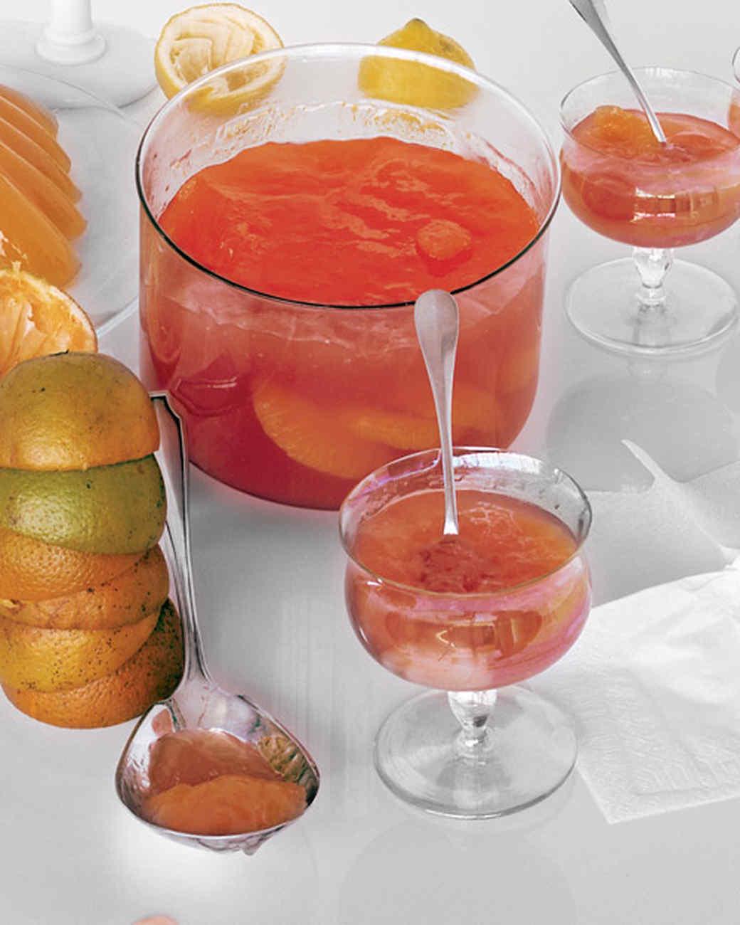 Grapefruit Campari Gelatin