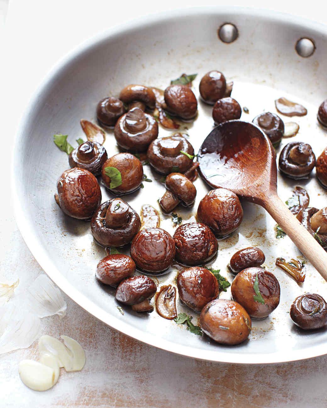 Sauteed Mushrooms with Herbs