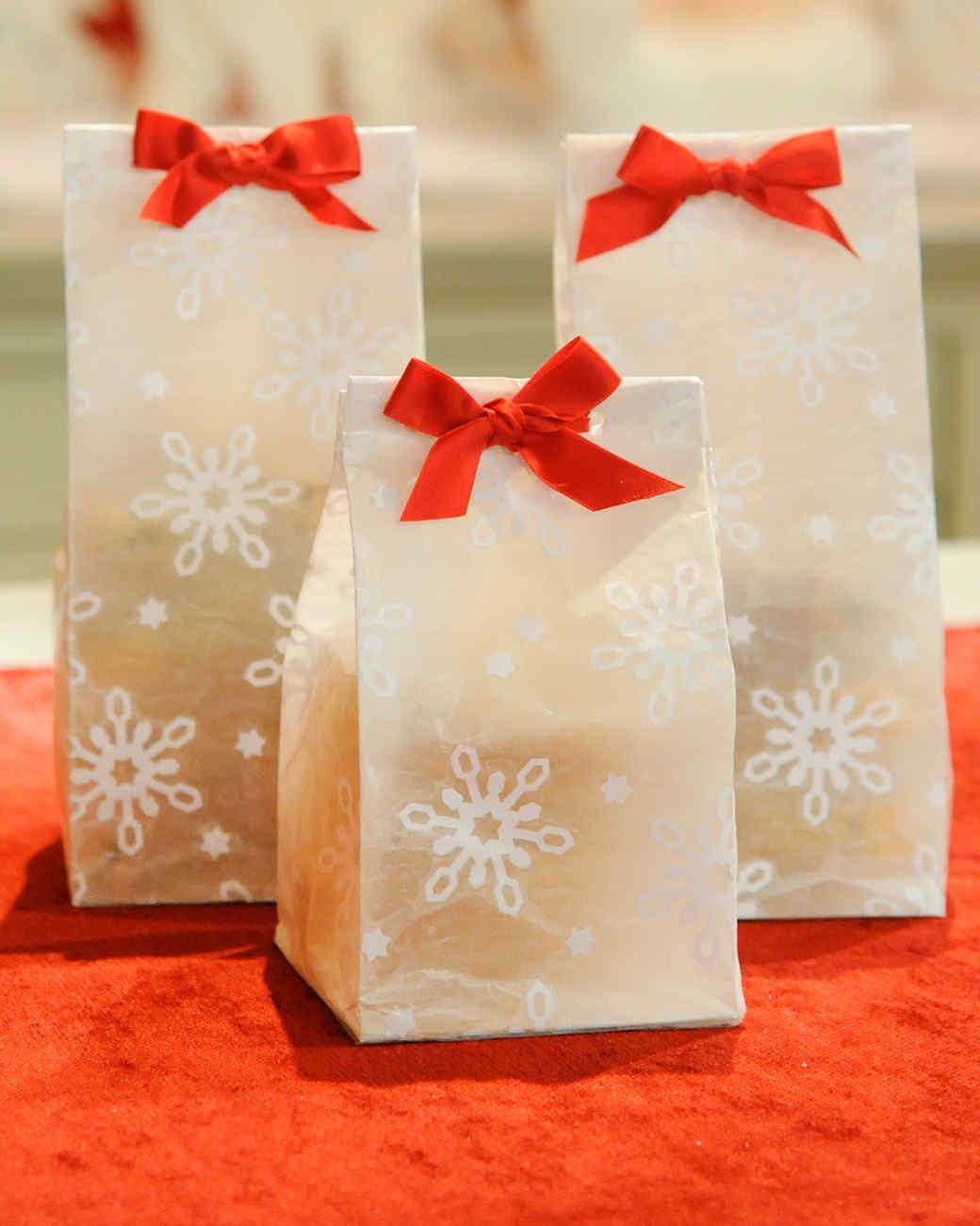 Snowflake Treat Bags