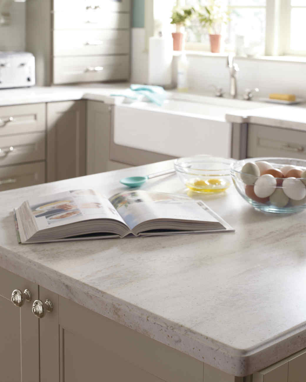 Home Depot Quartz and Corian Countertops Martha Stewart