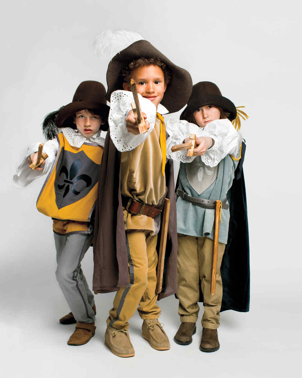 Halloween Costumes Trio