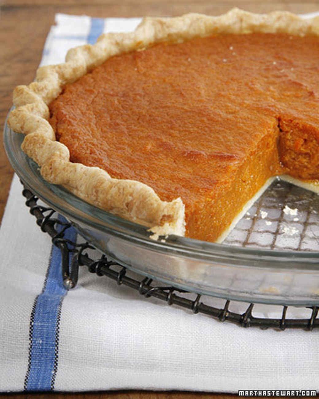Sweet Potato Pie Recipe & Video | Martha Stewart