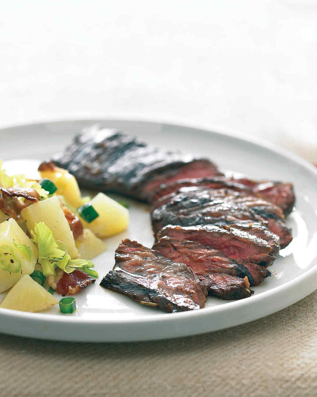 Balsamic Marinated Skirt Steak