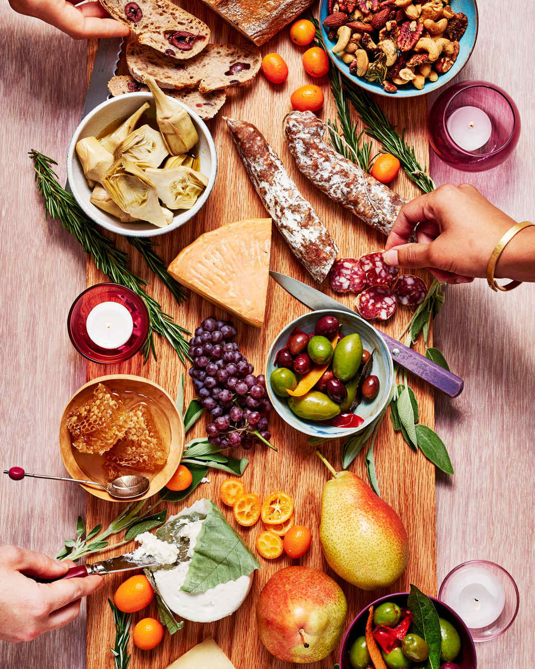cheese and charcuterie appetizer board