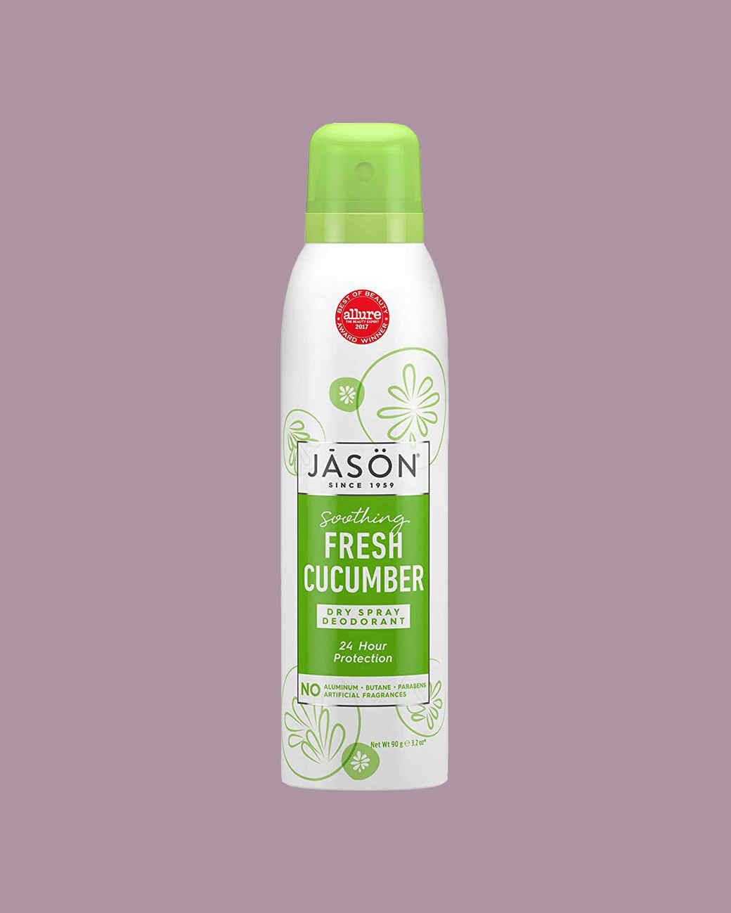 Jason Soothing Fresh Cucumber Dry Spray Deodorant