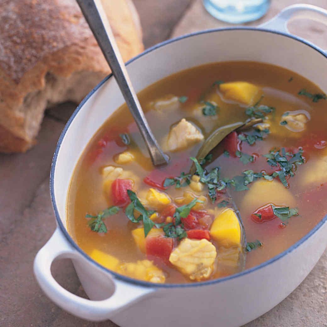 Caldo de Pescado (Spanish Fish Soup)