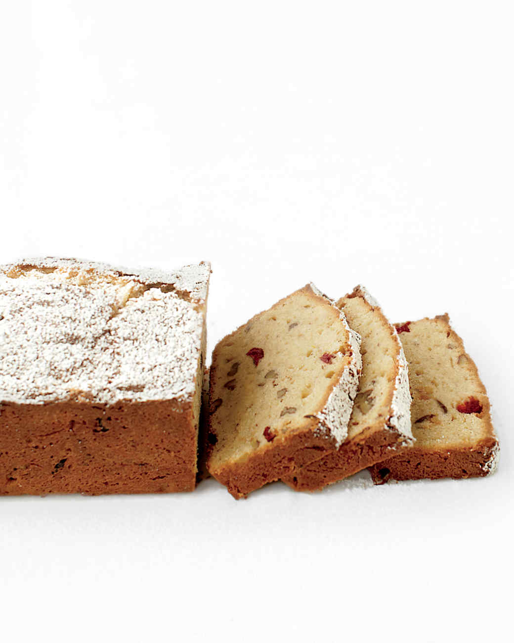 Gluten-Free Pound Cake with Cranberries