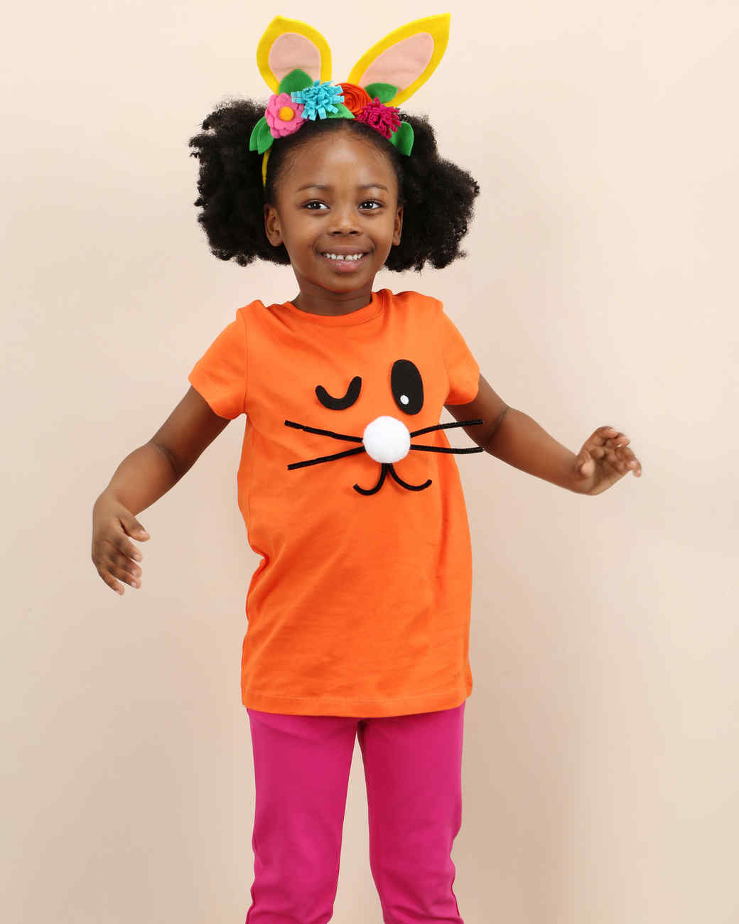 easter kids crafternoon bunny shirt