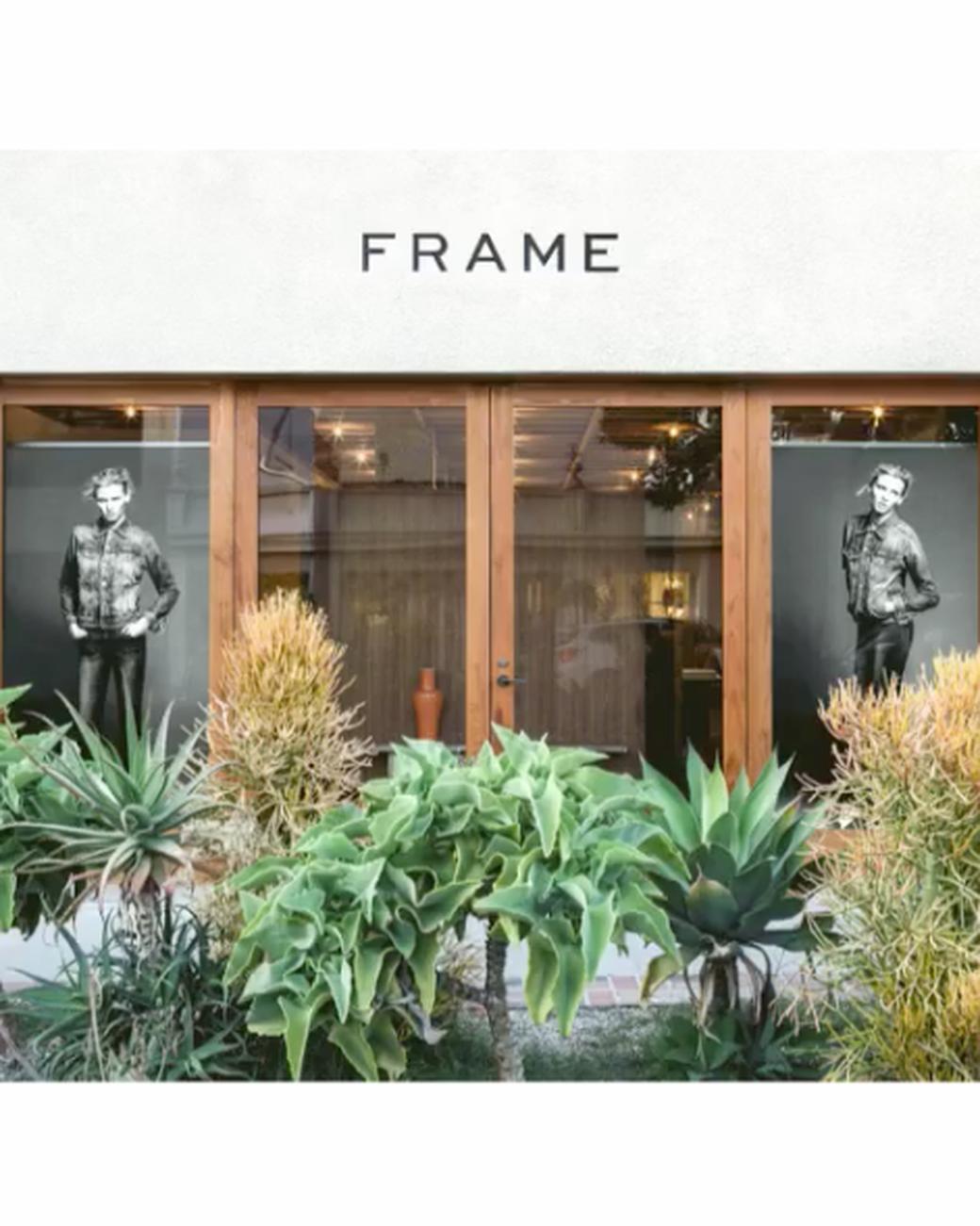 frame denim melrose storefront