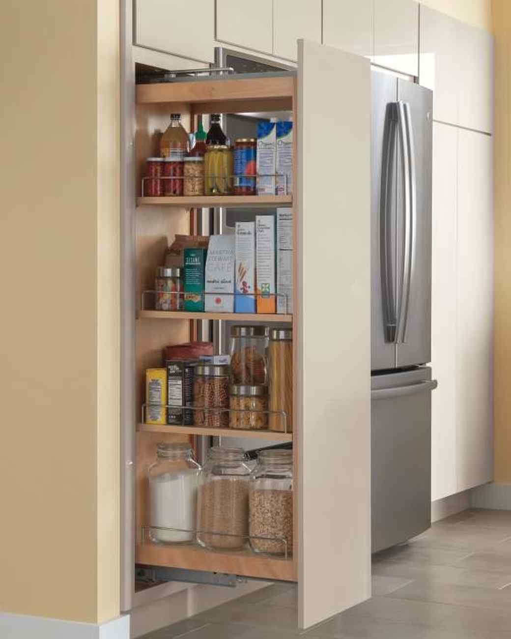 home depot pantry pullout kitchen