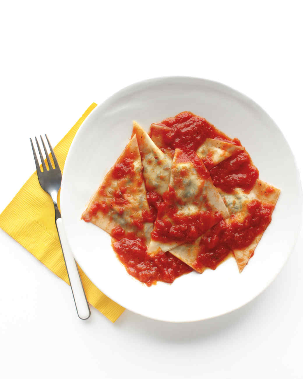 Kale-and-Ricotta Ravioli