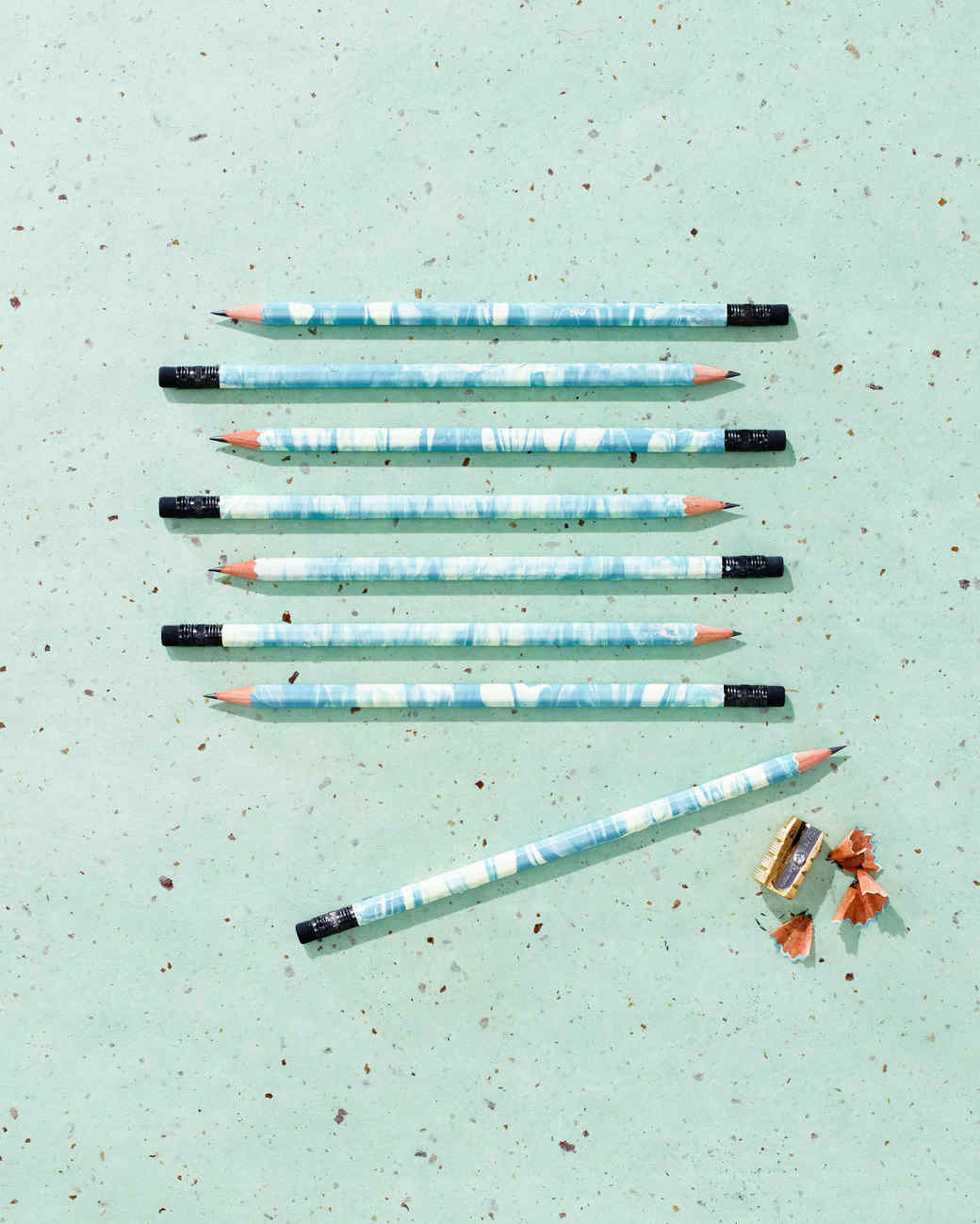 Marbelized Pencils