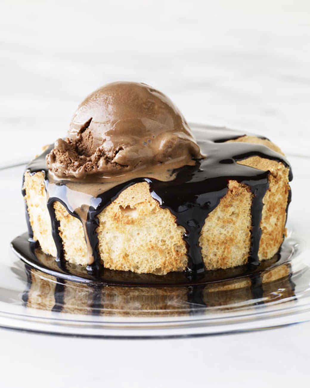 Brown Sugar Angel Food Cakes