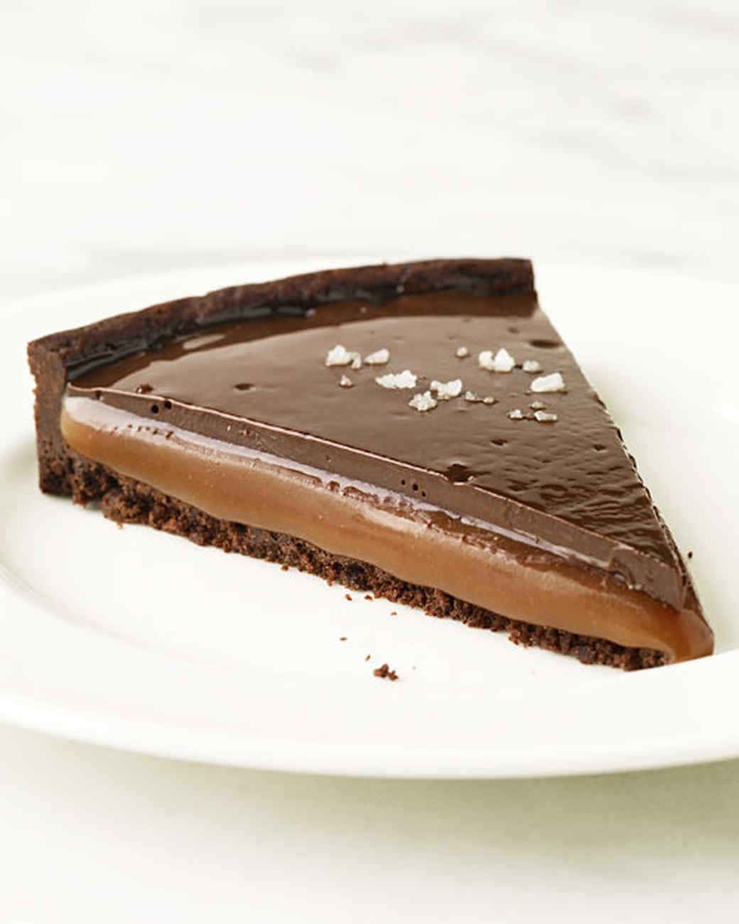 Chocolate Caramel Tarts Recipe | Martha Stewart