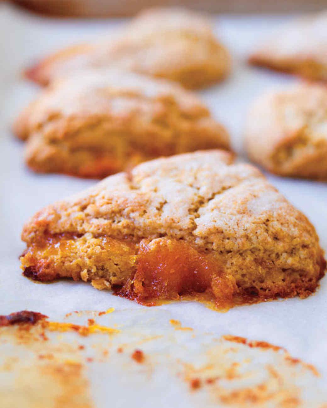 Marmalade Barley Scones