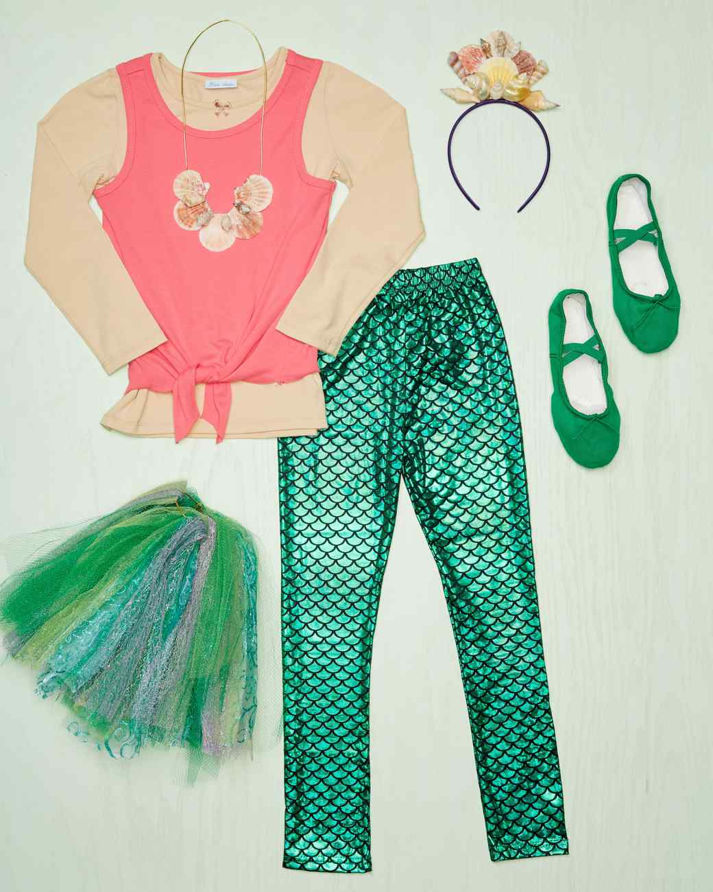 mermaid costume materials