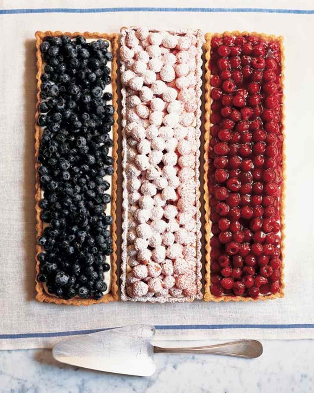 Flag Berry Tarts