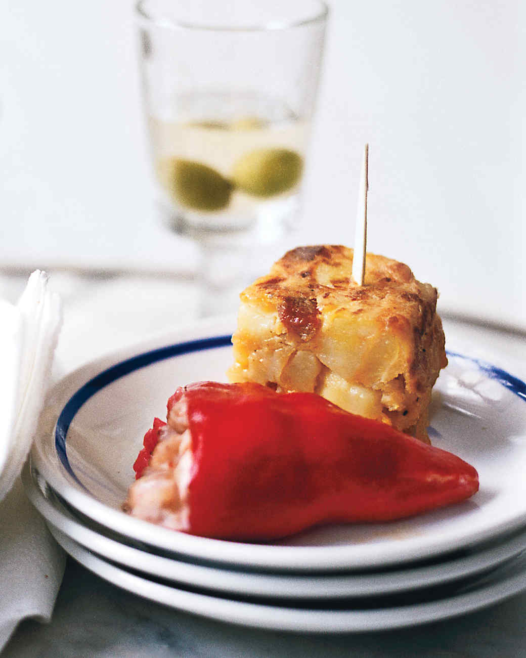 Tapas Dinner Party Ideas Part - 43: Piquillo Peppers Stuffed With Shrimp Salad