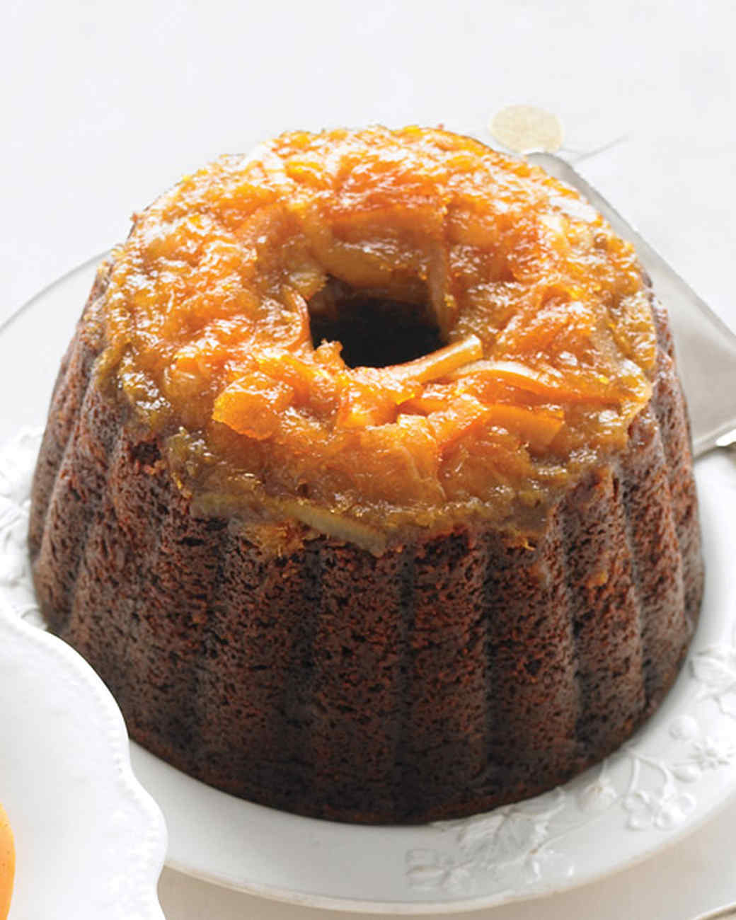 Steamed Chocolate-Gingerbread Pudding