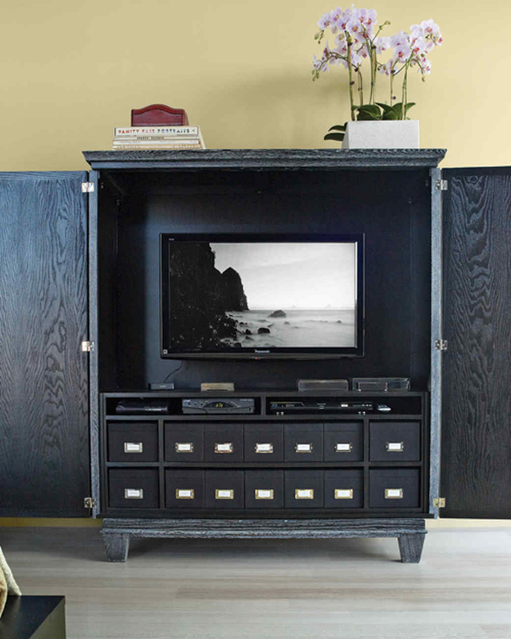 living room organization. Living in Style Organizing Technology Your Room  Martha Stewart