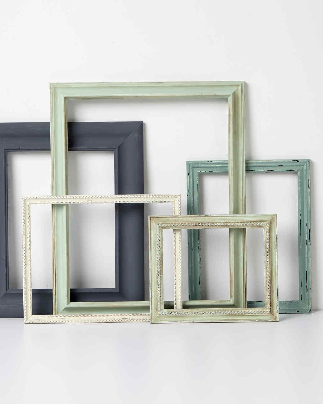 Vintage Frames | Martha Stewart