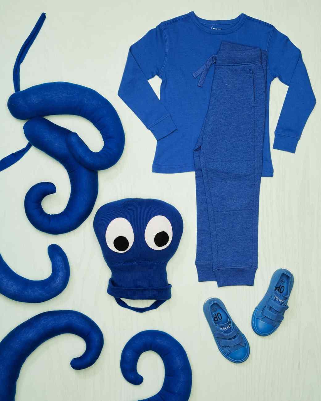 octopus costume materials