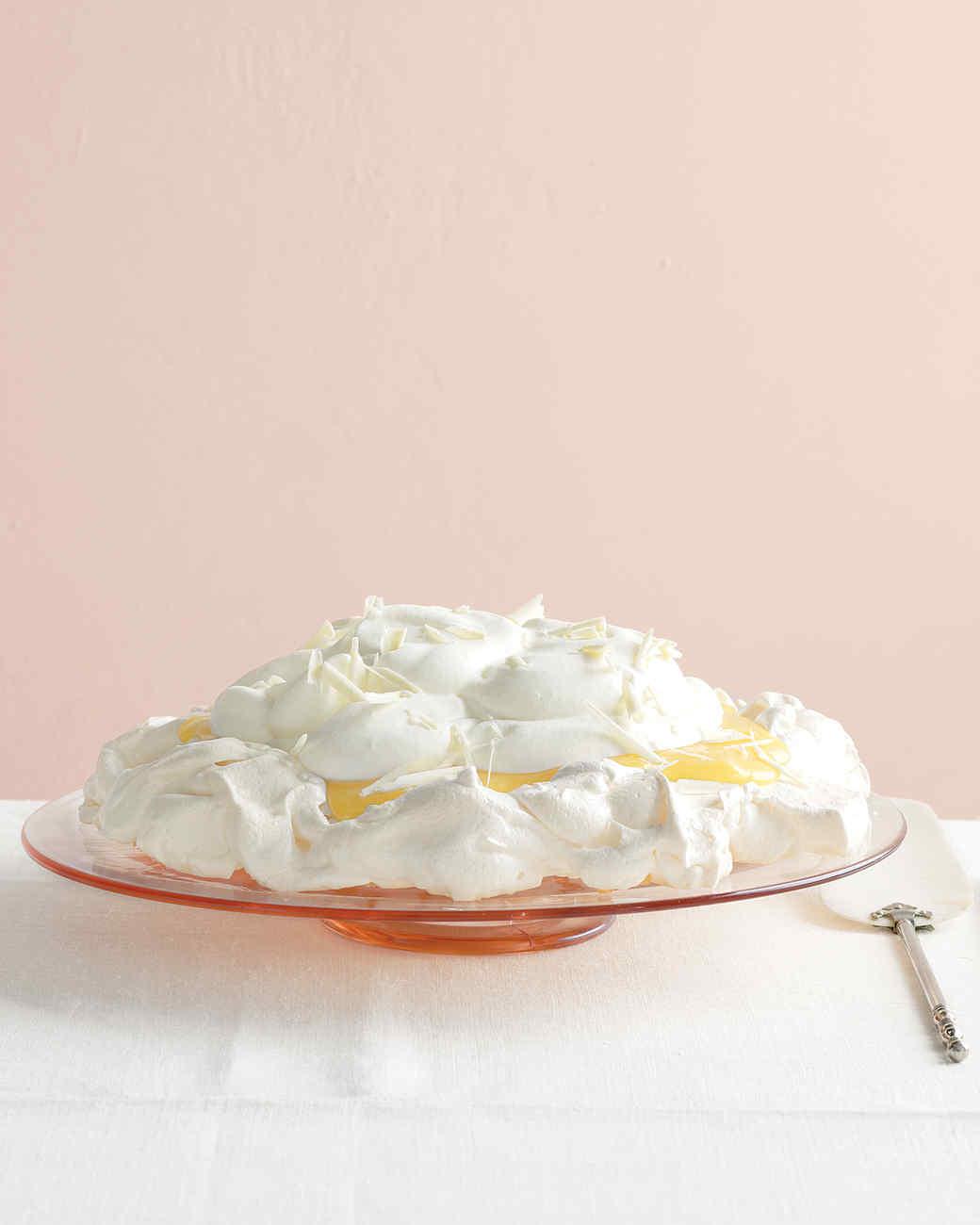 Orange Cream Pavlova