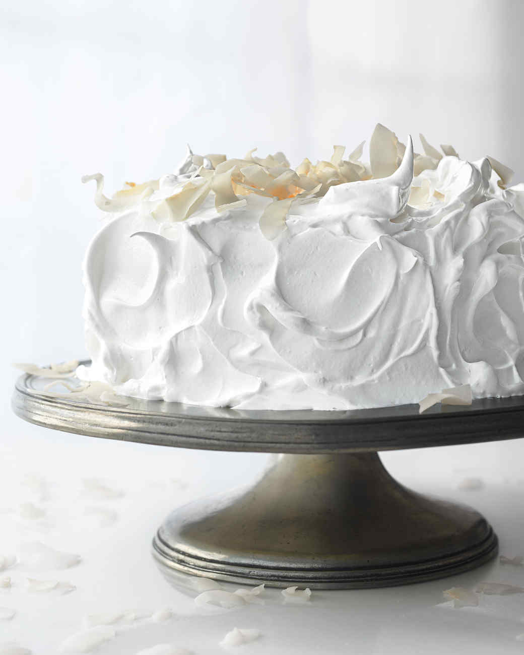 Meringue Frosting for Raspberry White Cake