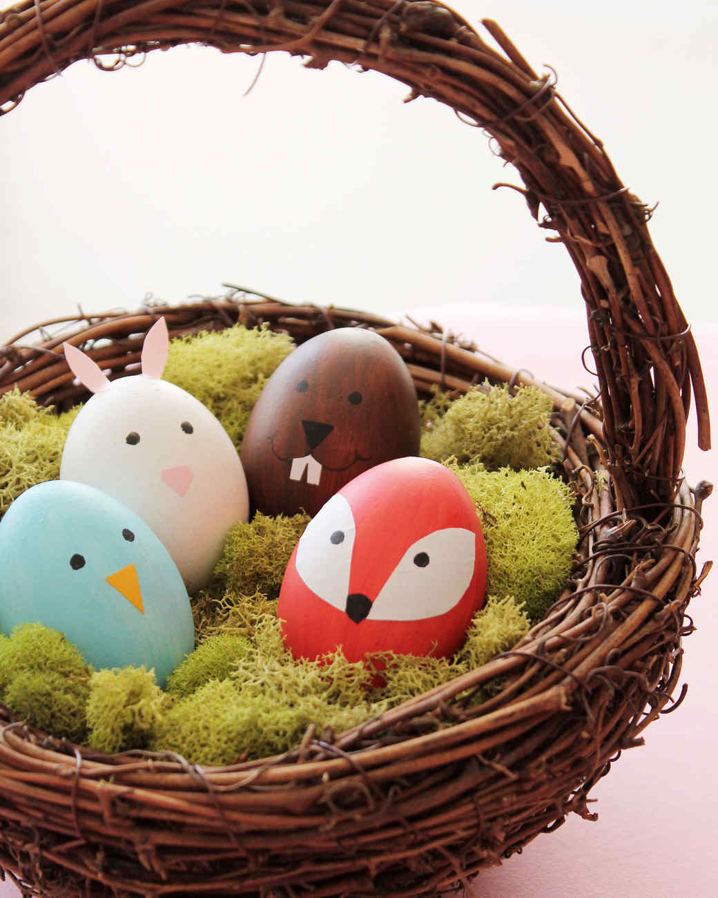 Cute woodland animal easter eggs video martha stewart cute woodland animal easter eggs negle Images