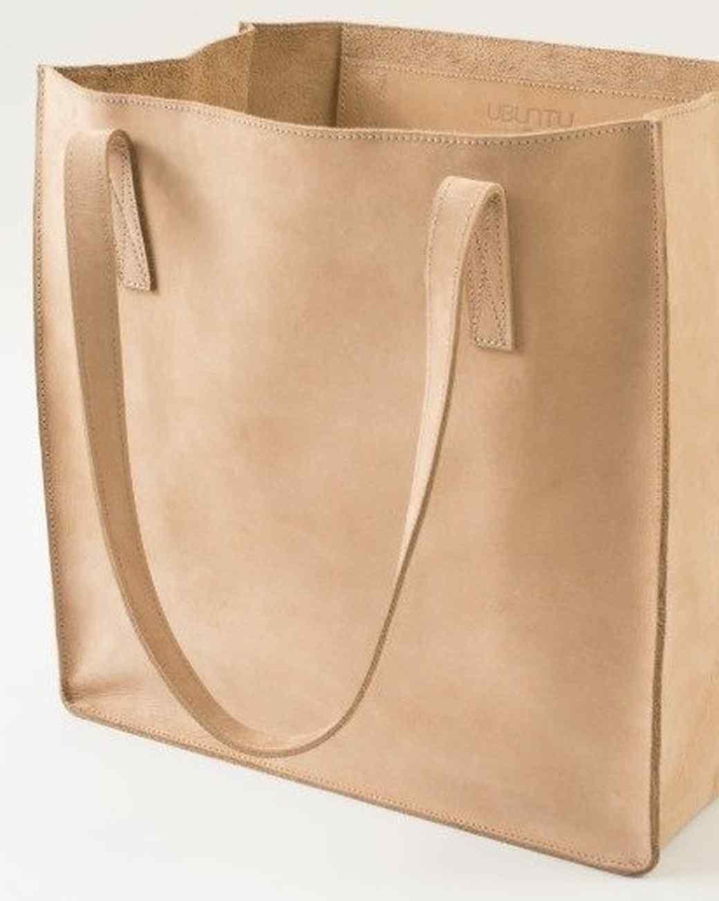 Zazzle-Ubuntu Made Leather Tote Bag