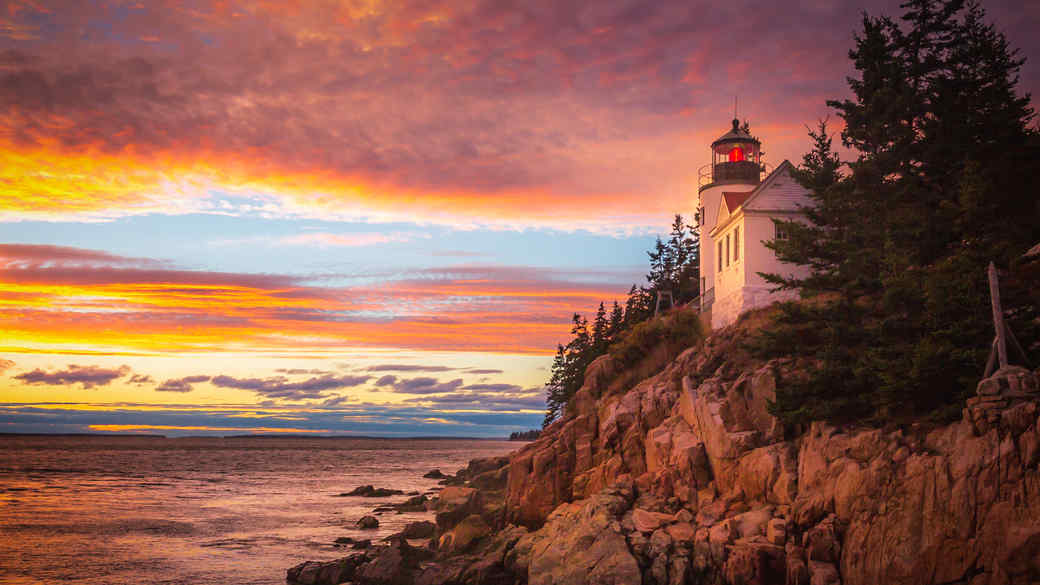 Acadia National Park in the State of Maine