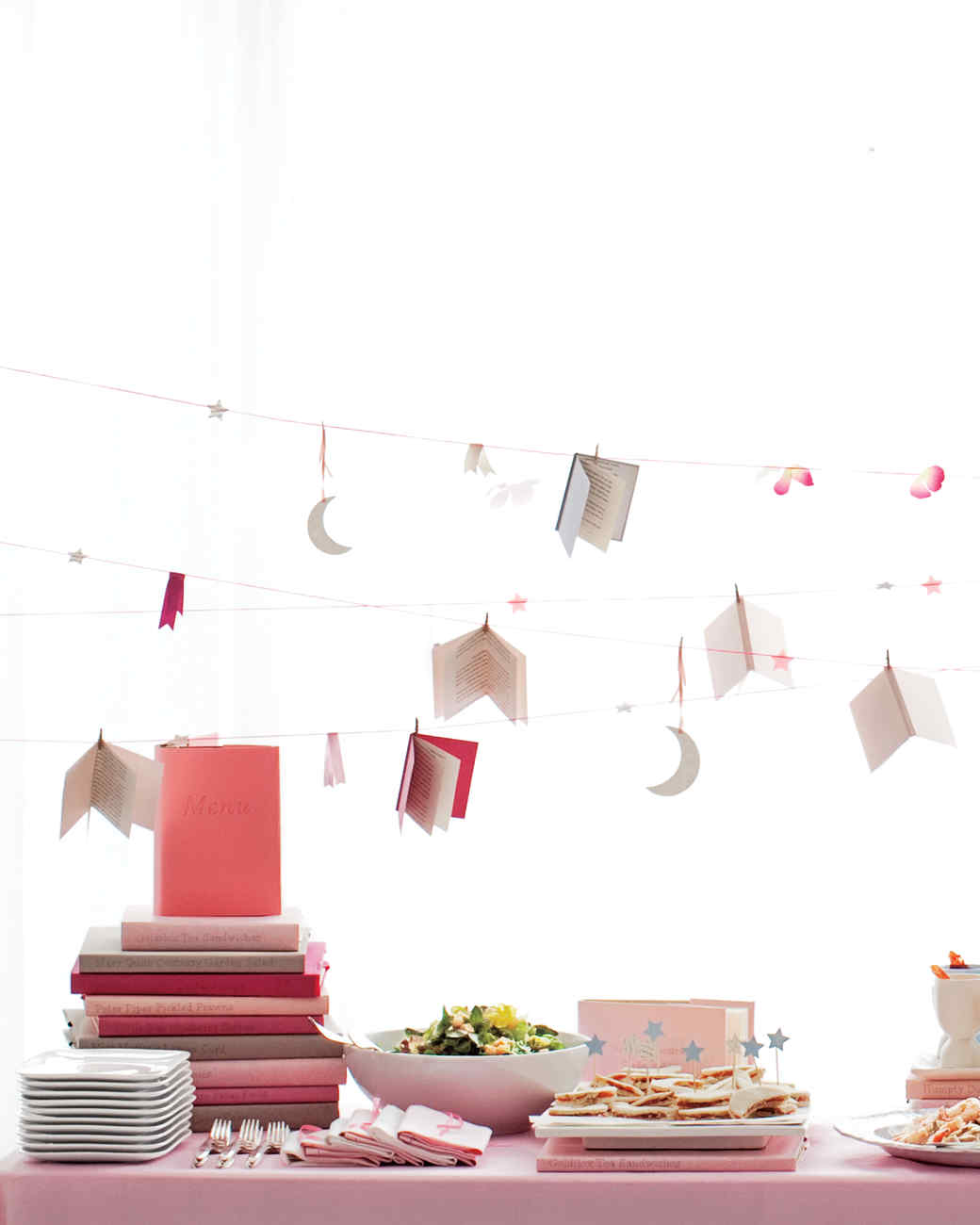 A Book Themed Baby Shower