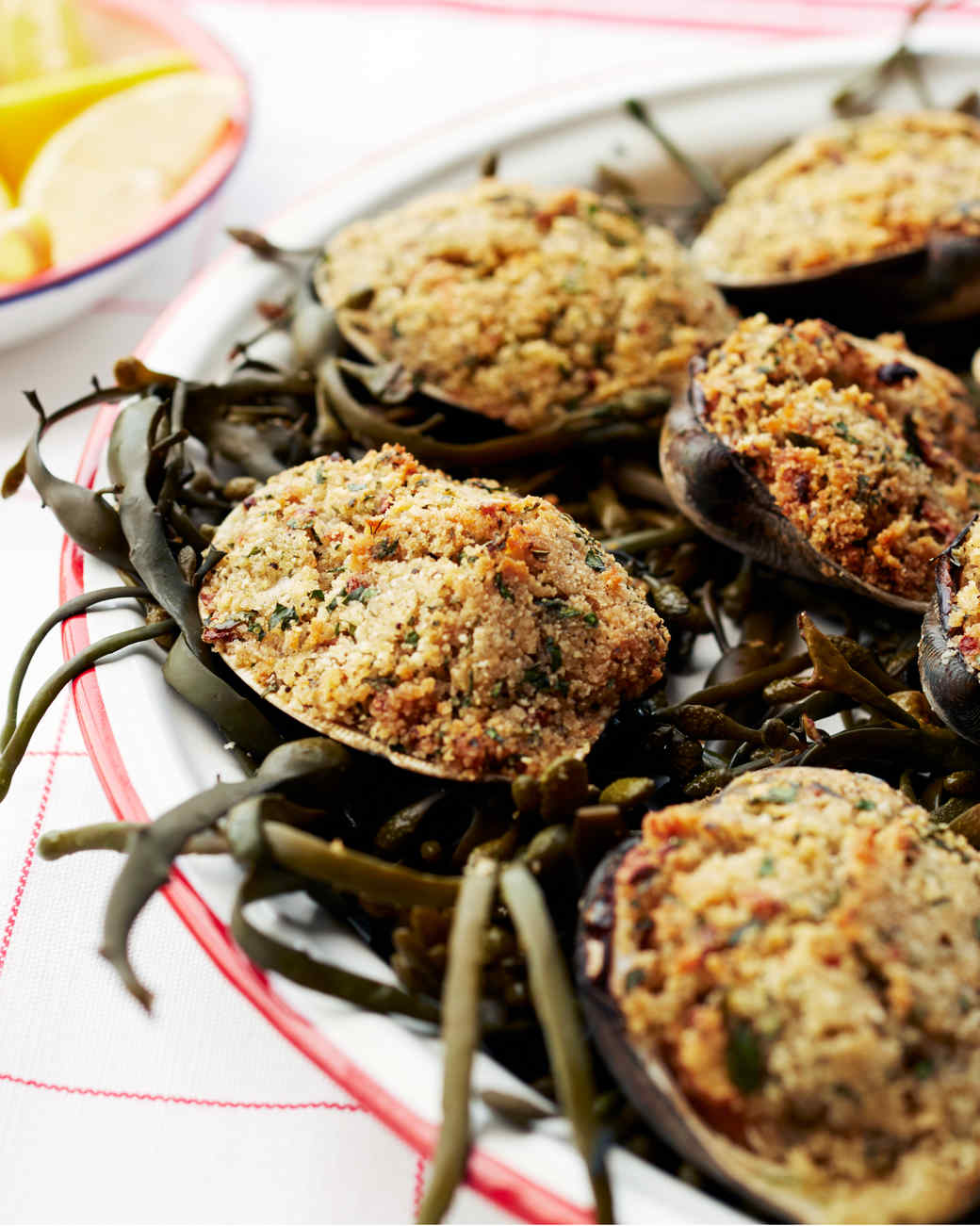 Baked Stuffed Clams Recipe | Martha Stewart