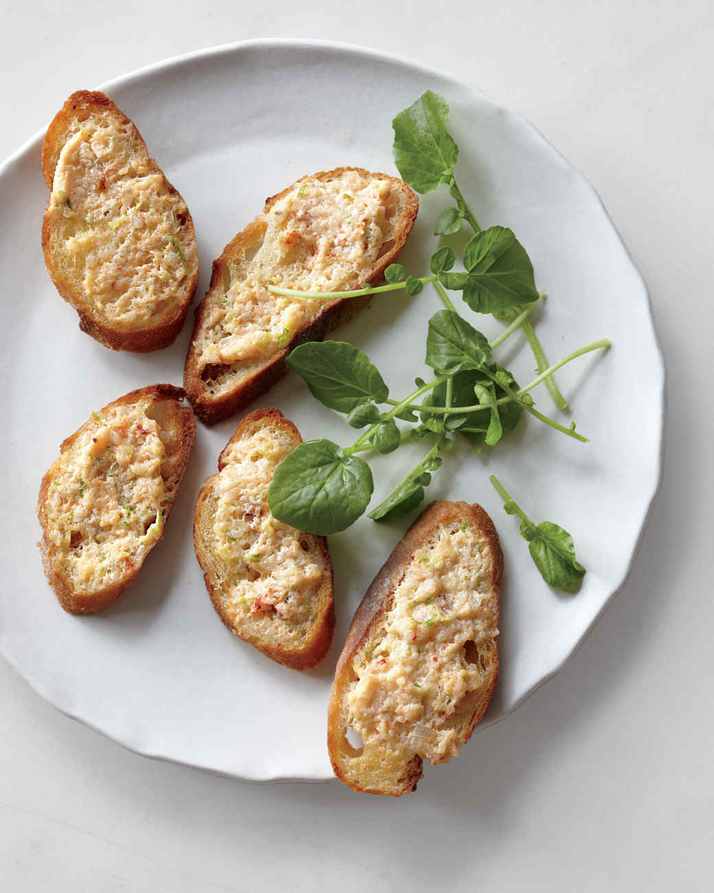 Broiled Shrimp Toasts