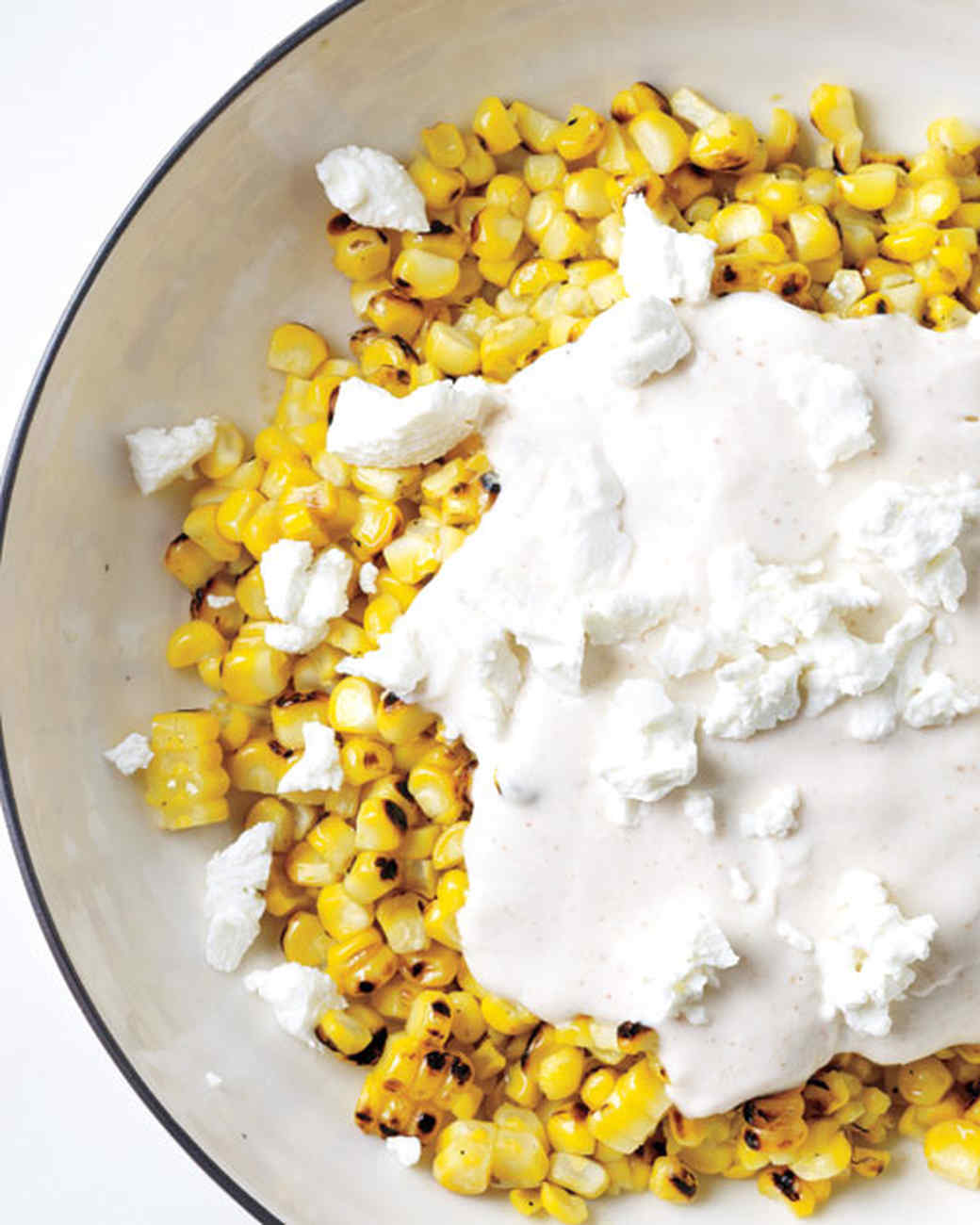 Mexican-Style Corn with Citrus Cream